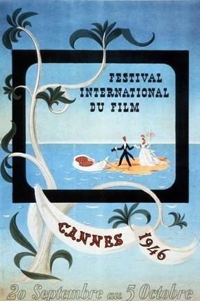 Cartel de del Festival de Cannes 1946