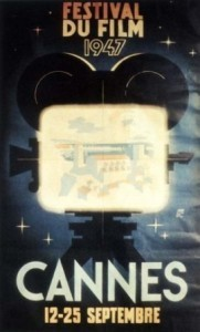 Cartel de del Festival de Cannes 1947
