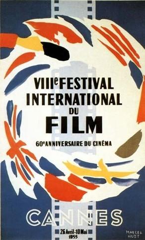 Cartel de del Festival de Cannes 1955