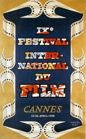 Cartel de del Festival de Cannes 1956