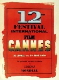 Cartel de del Festival de Cannes 1959