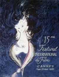 Cartel de del Festival de Cannes 1962