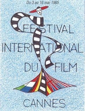 Cartel de del Festival de Cannes 1965