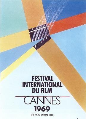 Cartel de del Festival de Cannes 1969