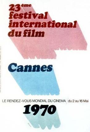 Cartel de del Festival de Cannes 1970