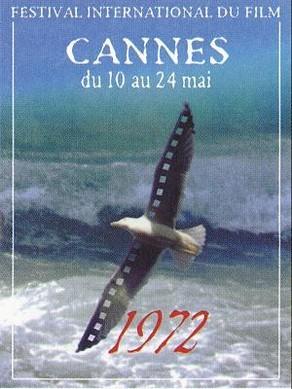 Cartel de del Festival de Cannes 1972