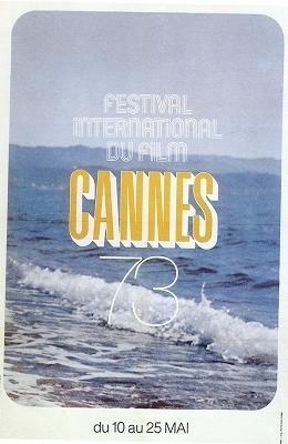 Cartel de del Festival de Cannes 1973