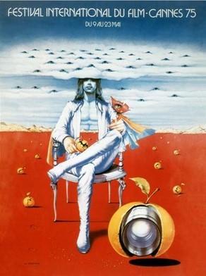 Cartel de del Festival de Cannes 1975