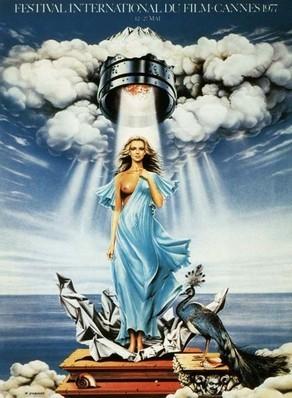 Cartel de del Festival de Cannes 1977