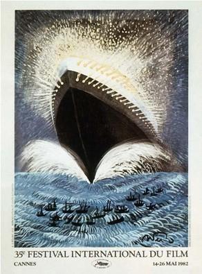 Cartel de del Festival de Cannes 1982