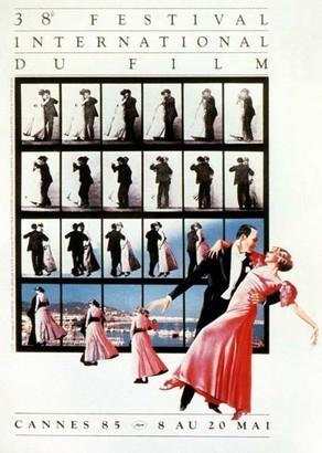 Cartel de del Festival de Cannes 1985