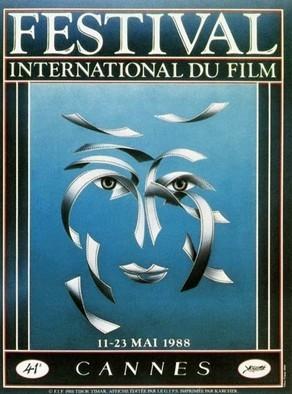 Cartel de del Festival de Cannes 1988