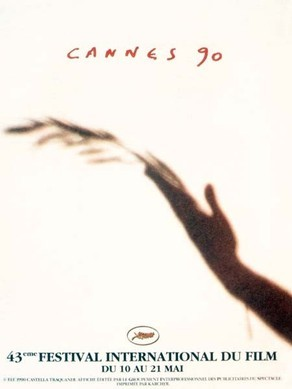 Cartel de del Festival de Cannes 1990