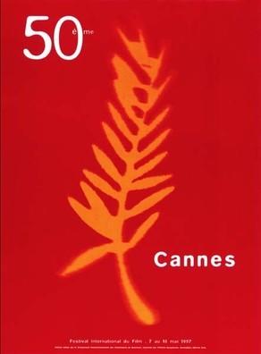 Cartel de del Festival de Cannes 1997