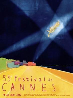 Cartel de del Festival de Cannes 2002