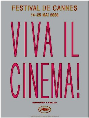 Cartel de del Festival de Cannes 2003