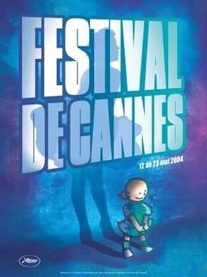 Cartel de del Festival de Cannes 2004