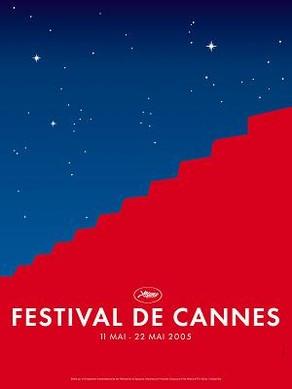 Cartel de del Festival de Cannes 2005