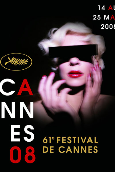 Cartel de del Festival de Cannes 2008