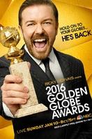 Cartel de los Globos de Oro 2016