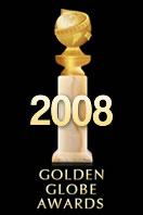 Cartel de de los Globos de Oro 2008