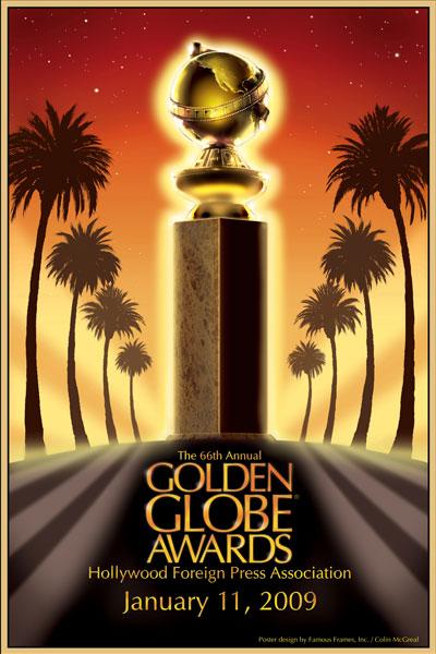Cartel de de los Globos de Oro 2009