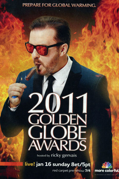 Cartel de de los Globos de Oro 2011