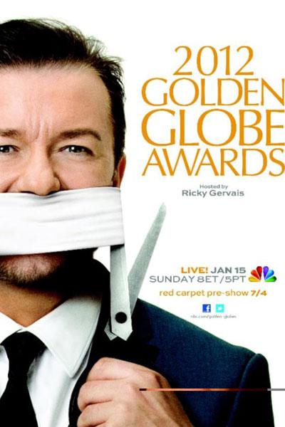 Cartel de de los Globos de Oro 2012
