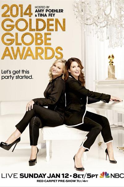 Cartel de de los Globos de Oro 2014