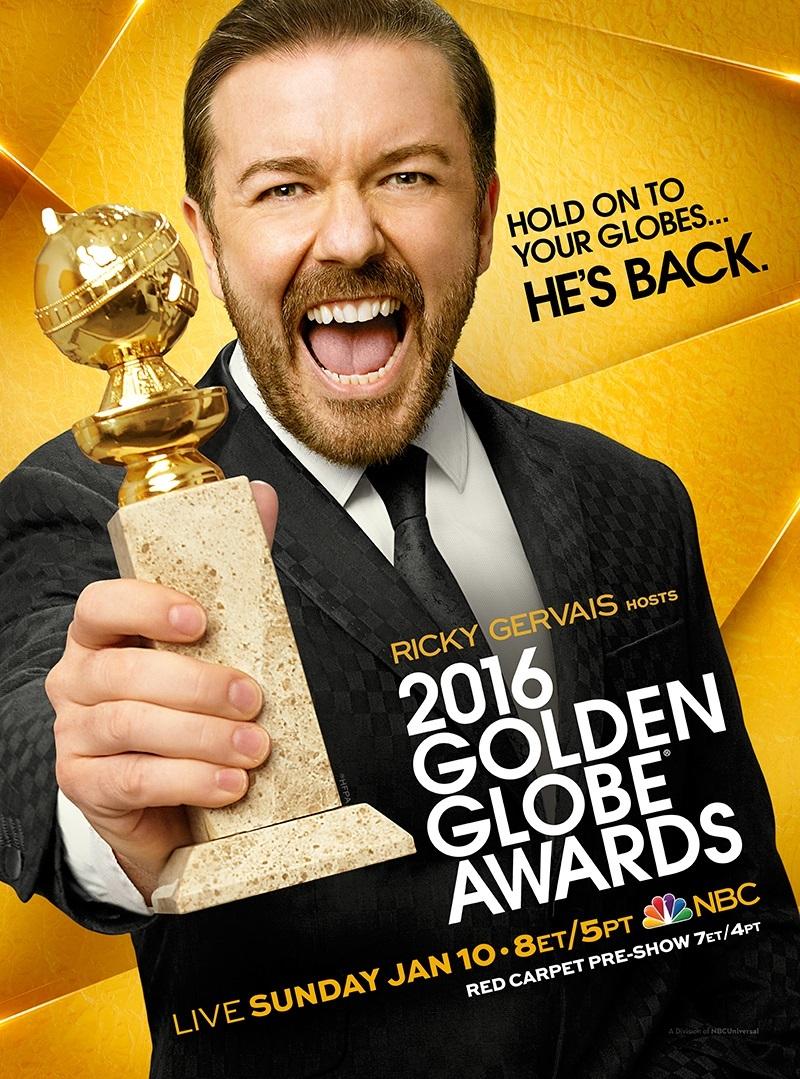 Cartel de de los Globos de Oro 2016