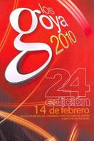 Cartel de los Goya 2010