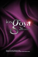 Cartel de los Goya 2012
