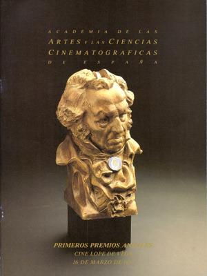 Cartel de de los Goya 1987