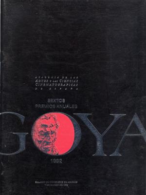 Cartel de de los Goya 1992
