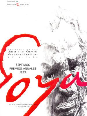 Cartel de de los Goya 1993