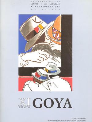 Cartel de de los Goya 1997