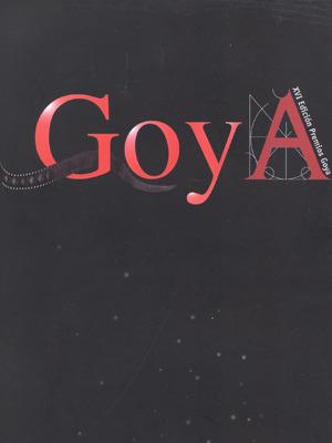 Cartel de de los Goya 2002
