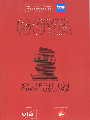 Cartel de de los Goya 2003