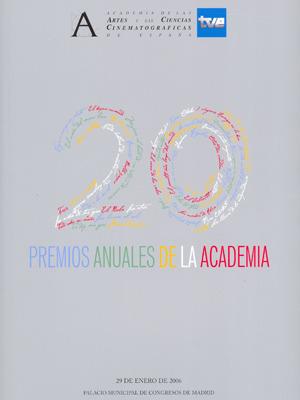 Cartel de de los Goya 2006