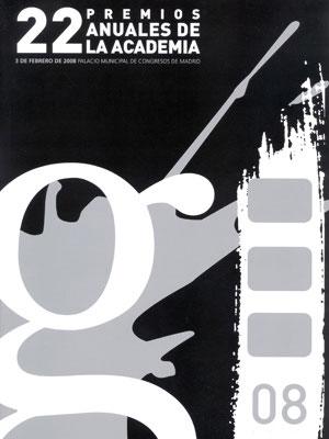Cartel de de los Goya 2008