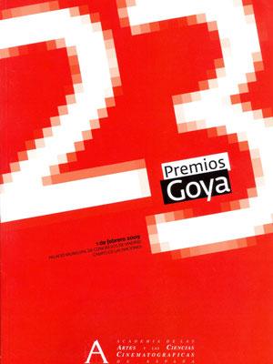 Cartel de de los Goya 2009
