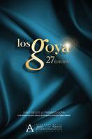 Cartel de de los Goya 2013
