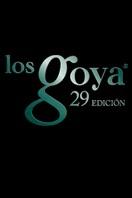 Cartel de de los Goya 2015