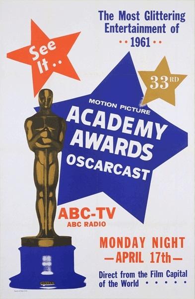 Cartel de de los Oscars 1961