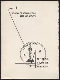 Cartel de de los Oscars 1945