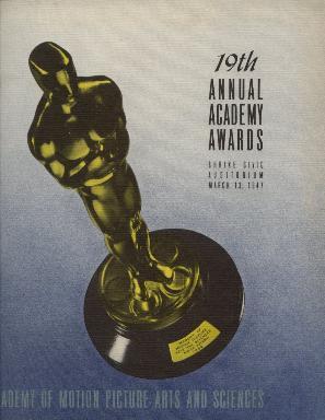 Cartel de de los Oscars 1947