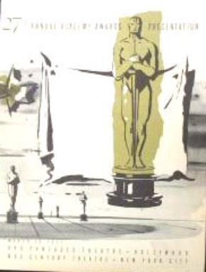 Cartel de de los Oscars 1955