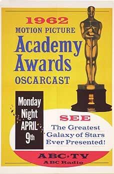 Cartel de de los Oscars 1962