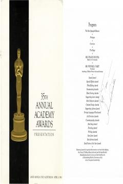 Cartel de de los Oscars 1963