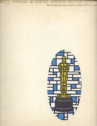 Cartel de de los Oscars 1964